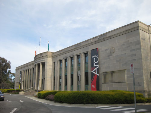 The National Film and Sound Archive, Canberra
